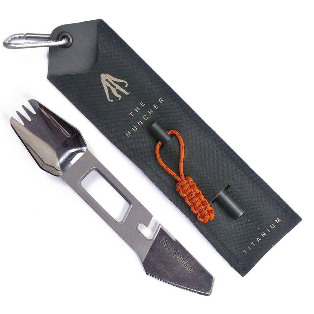 Muncher Multitool Utensil: Fork, Spork and Multitool, All In One