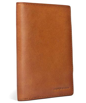 Kaisper Maison Leather Passport Holder