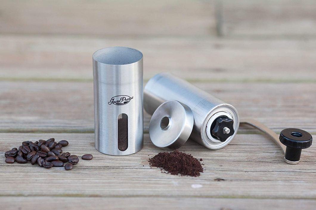 This Manual Coffee Grinder Is As Good As It Gets: JavaPresse Burr Grinder