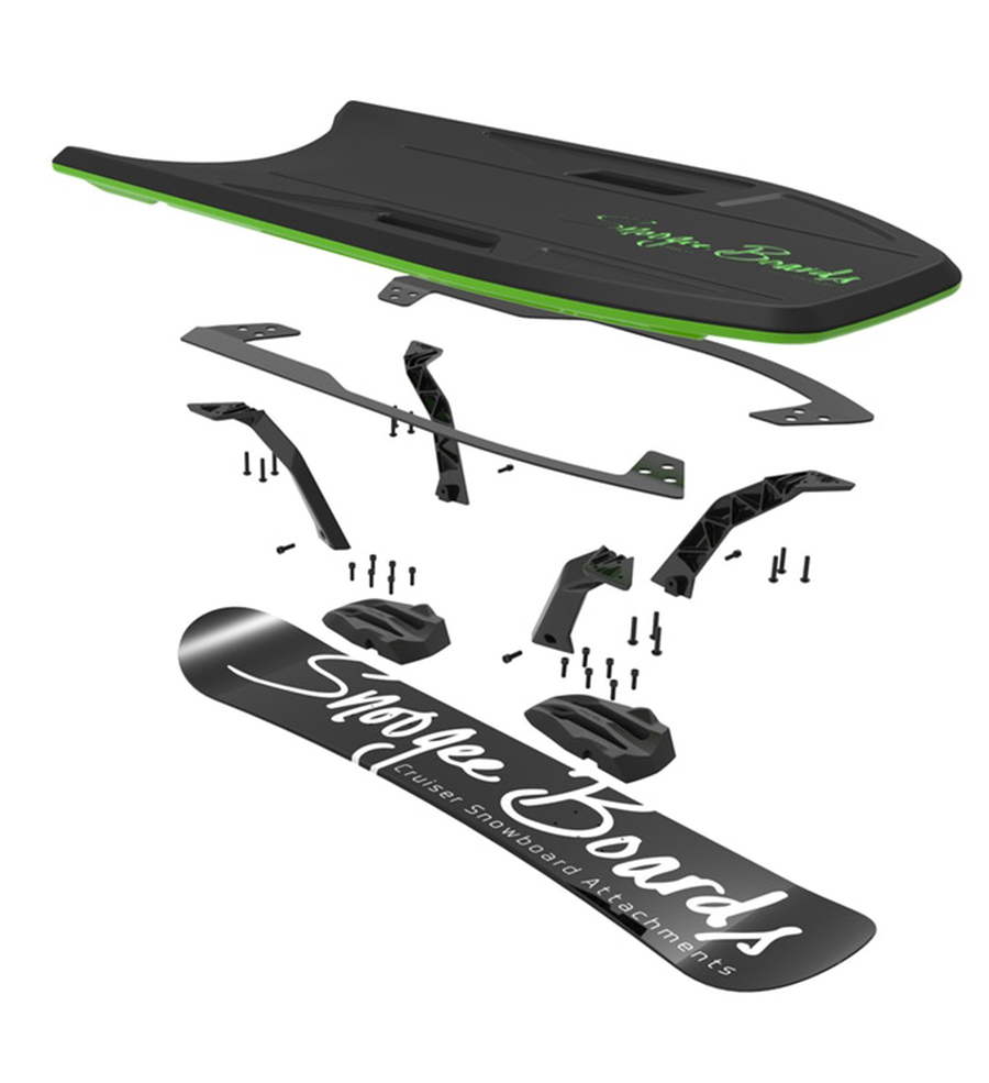 Snoogee Board Wants To Be The Ultimate Carving Sled