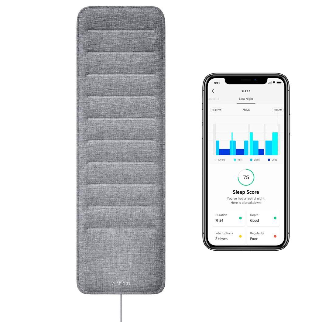 Track Your Sleep: Withing/Nokia Sleep Tracking Pad