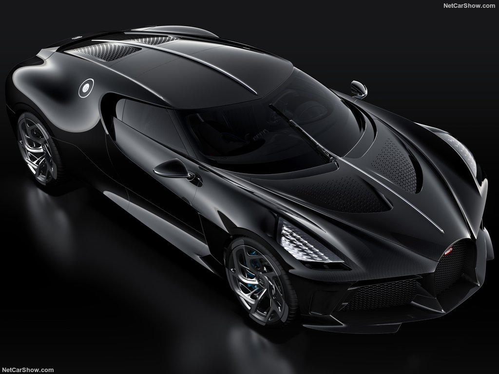 This is Bugatti's Most Expensive Car Ever: La Voiture Noire