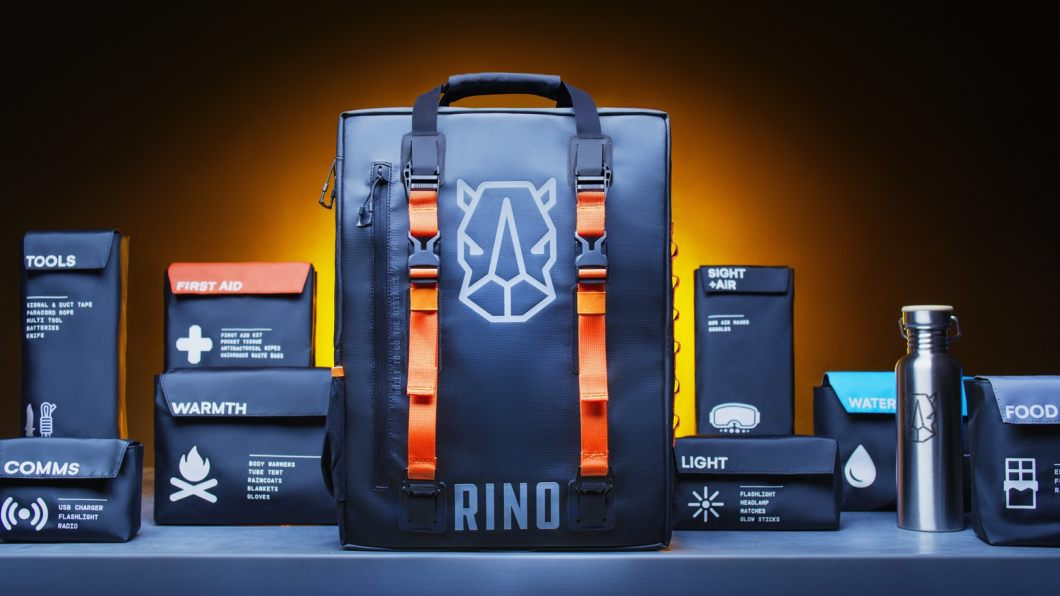 In Case of Emergency: Rino Ready Companion 72-Hour Survival System for Two