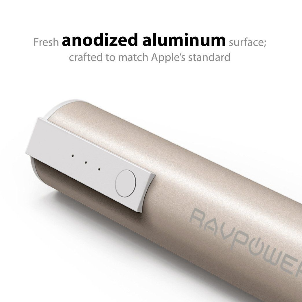 Hold A Charge With the RAVPower Luster Mini Battery Pack