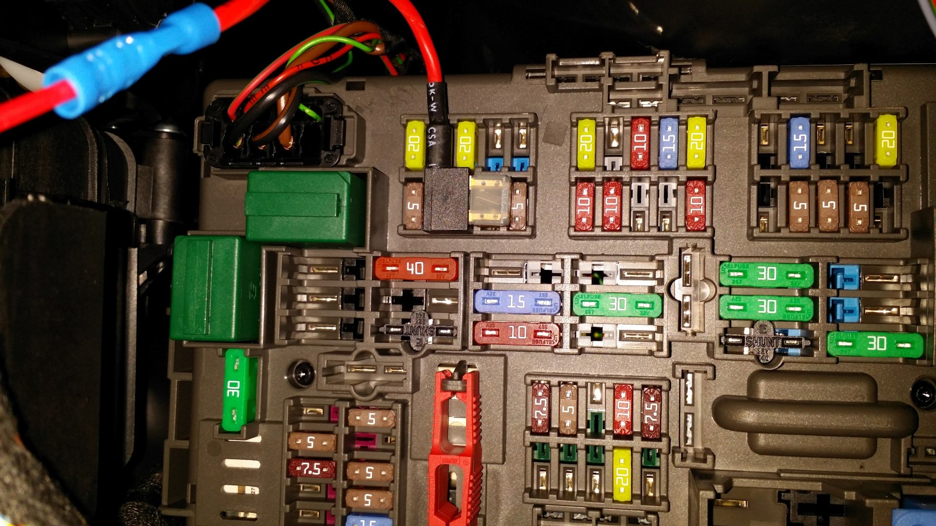 Good Switched 12V Circuit In The Fuse Panel For Radar