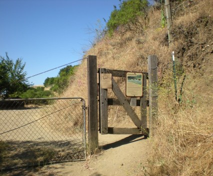 Sibley Gate to Trailhead