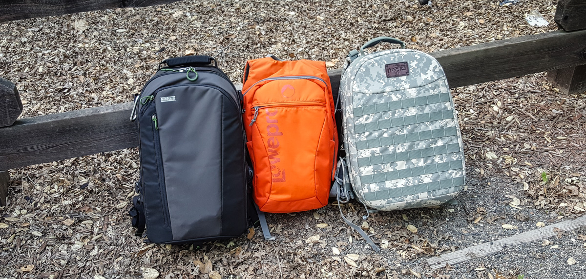 Camera Backpacks Firesign LowePro Mindshift 2016-001