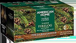 American Home Balsam Fir Firelog