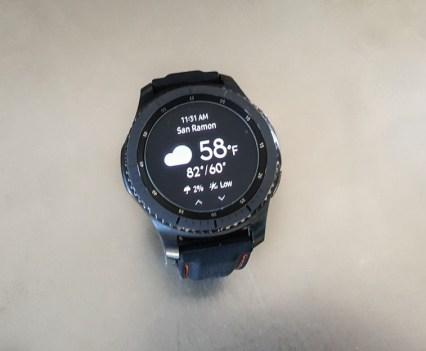 Samsung Gear S3 Frontier Widget