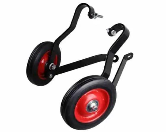 mini bike training wheels