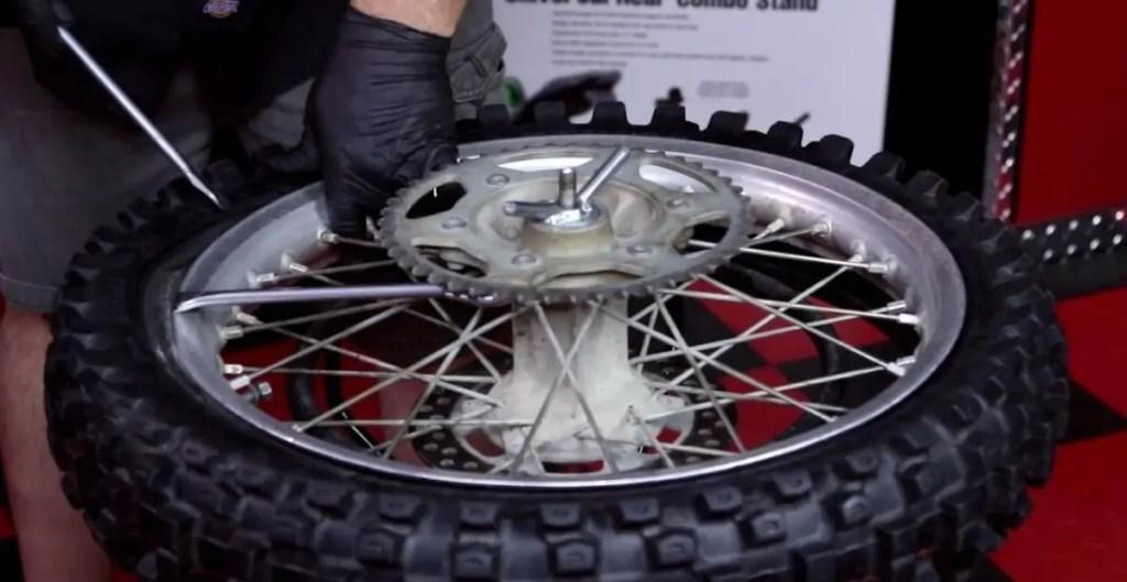 Change Dirt Bike Tire