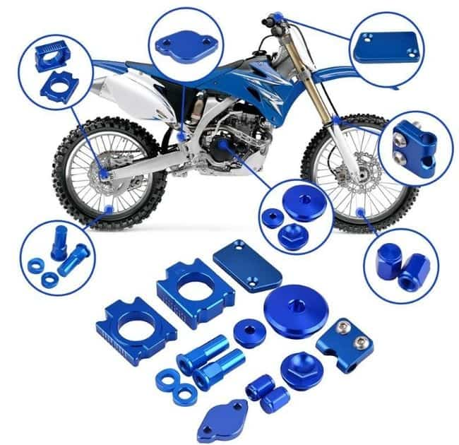 How does the Yamaha YZ250X work