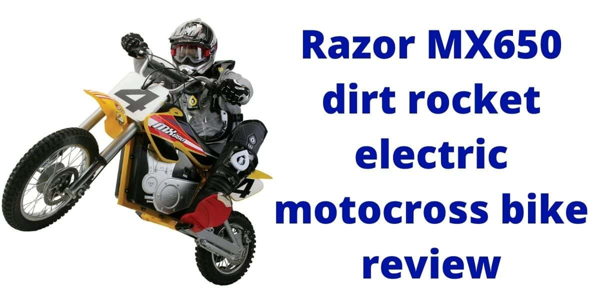 electric motocross bike review