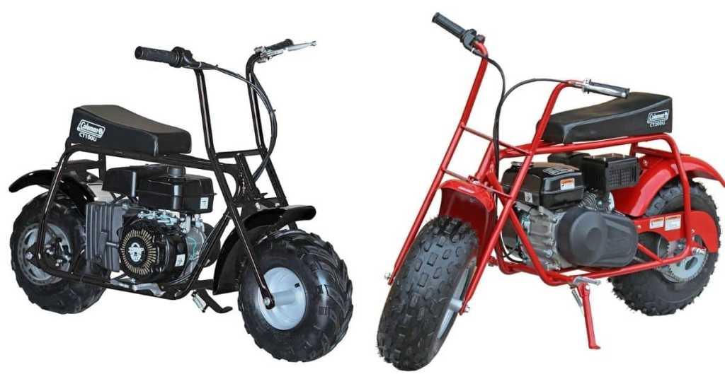 coleman mini bike review
