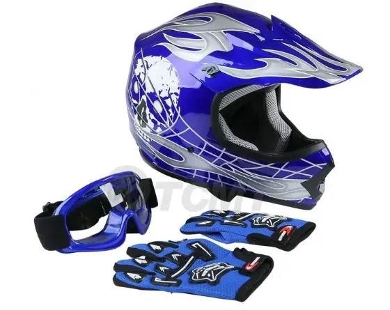 TCMT Dot Youth & Kids Motocross Helmet