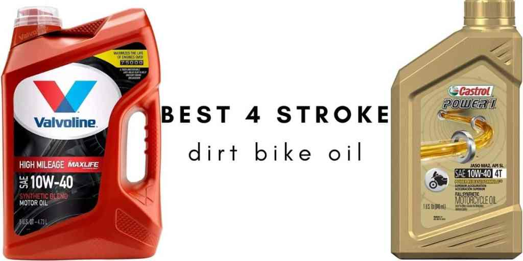 best 4 stroke dirt bike engine oil