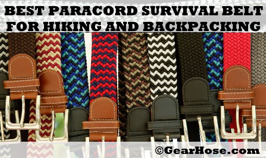 best paracord survival belts
