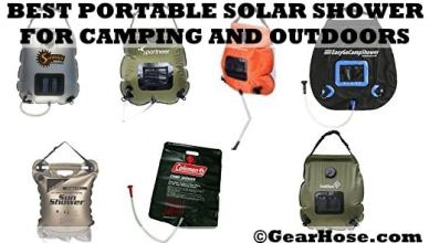 best portable solar showers
