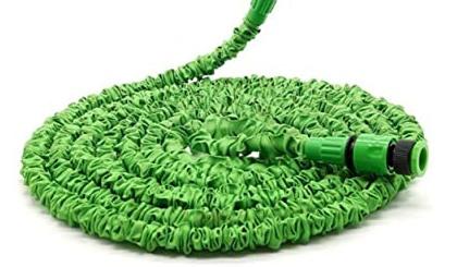 100FT 30M Expanding Flexible Hosepipe,8 Function Garden Hose Spray Gun,Flexible Magic Water Hose Pipe Anti-leakage With Quick Connector//Storage Bag Mgrett Garden Hose Expandable Hose Pipe