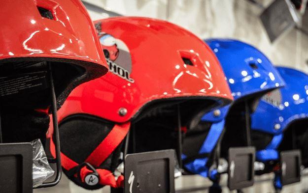 Gul Evo Watersports Helmet BLUE FLURO YELLOW Unisex EVA impact protection