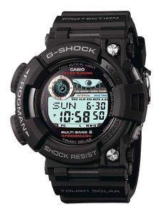 Casio Men's GWF1000 Frogman Black Solar Atomic G-Shock Watch