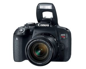 Canon EOS Rebel T7i Camera (With a Kit Lens)