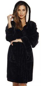Just Love Hooded Velour Robe