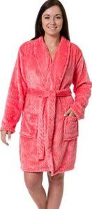 Silver Lilly Women's Embossed Robe