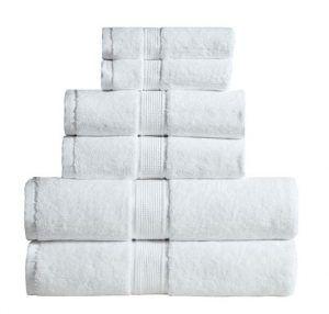 600 GSM Ultra Soft 100% Cotton 6 Piece Towel Set