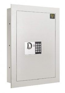 7700 Flat Electronic Wall Safe