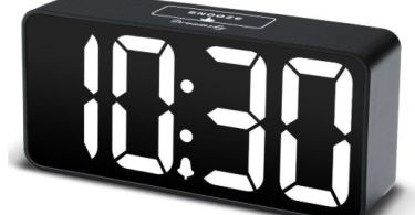best travel alarm clocks