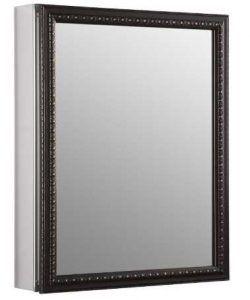 KOHLER K-2967-BR1 20 inch x 26 inch Aluminum Bathroom Medicine Cabinet