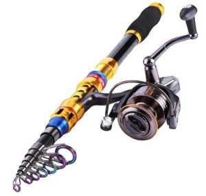Sougayilang Portable Telescopic Fishing Rod