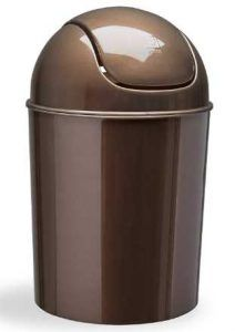 Umbra Mini Waste Can 1-1/2 Gallon with Swing Lid