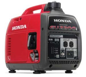 Honda Super Quiet Gas Power Portable Inverter Generator