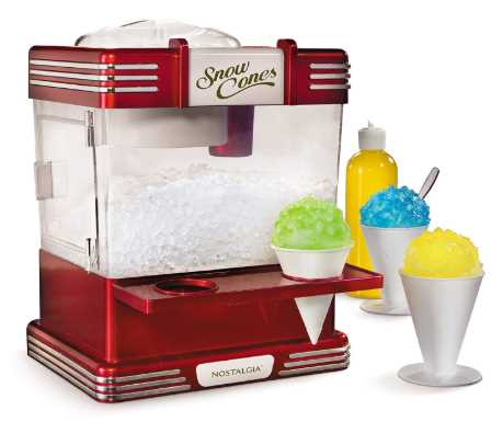 Hawaiian Shaved Ice S900A Shaved Ice /& Snow Cone Machine with Blue Raspberry Flavored Syrup and Accessories