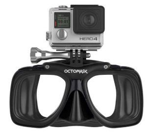 OCTOMASK - Compatible with Gopro - Dive Mask