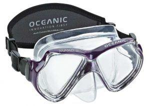 Oceanic Mako Silicone Scuba Snorkeling Mask