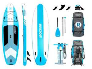 iROCKER Cruiser Inflatable Stand Up Paddle