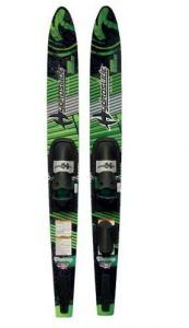 Hydroslide Adult Victory Water Skis Combo Pair