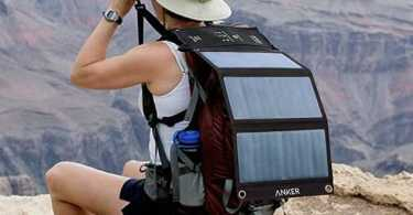 best solar backpack charger