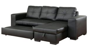 Furniture of America Charlton Contemporary Corner Sectional