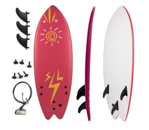 """Grande Juguete 5'5"""" Soft Top Beginner Surfboard"""