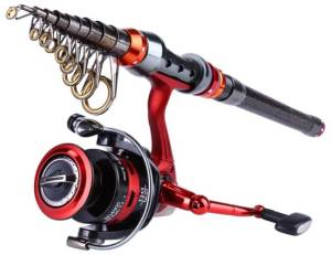 YONGZHI Fishing Poles with Spinning Reels