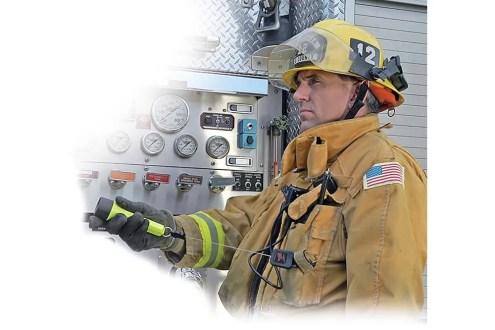 Flashlight Retractors for Fire/Rescue