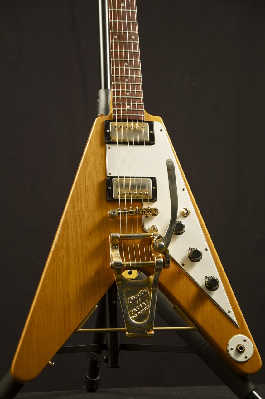 Gibson Flying V Headstock Square