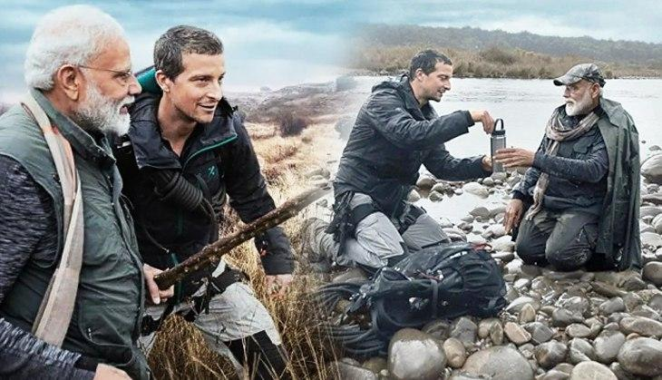 PM Modi to feature on show 'Man Vs Wild'
