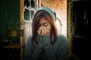 a sad girl pic