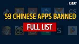 India Ban Chinese Apps Including TikTok and 58 More