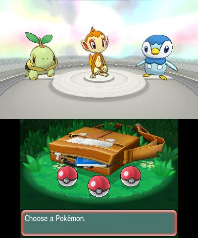 Get Johto Unova And Sinnoh Starters In Pokemon Oras